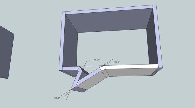 Etagère Phylactère angle initial