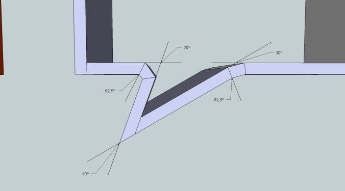 Etagère Phylactère angles corrigés