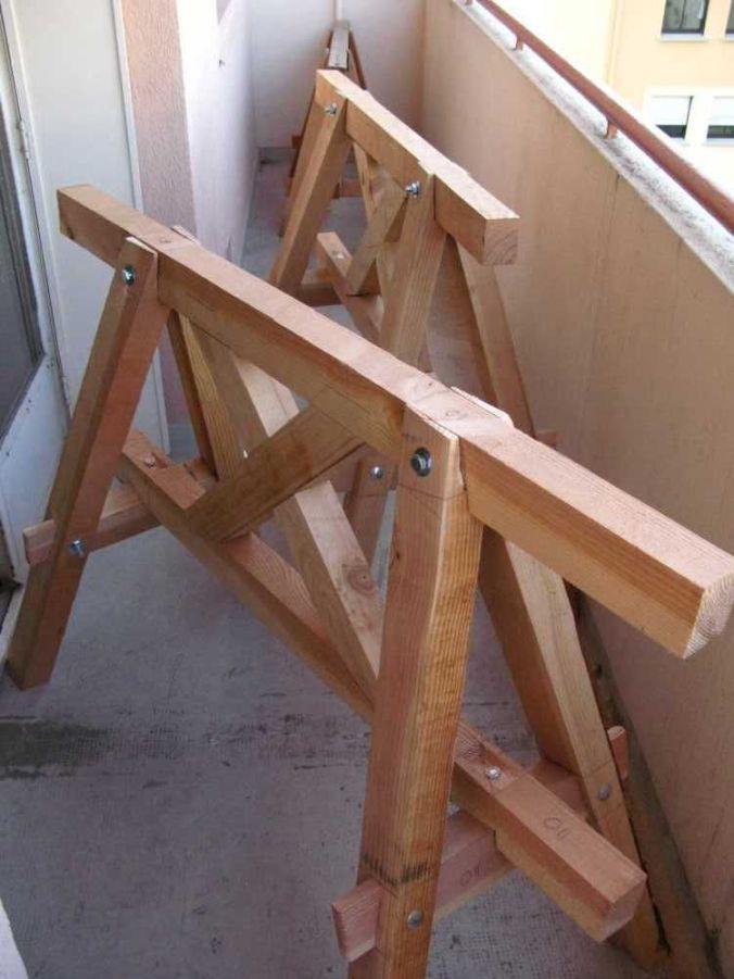Trétaux de charpentier